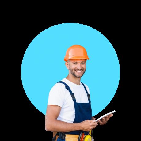 M1A business insurance button